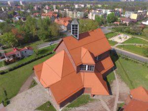Piątkowscy - filmowanie dronem