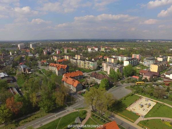 filmy z drona Śląsk