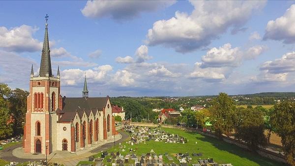 filmowanie dronem Piątkowsyc Śląsk